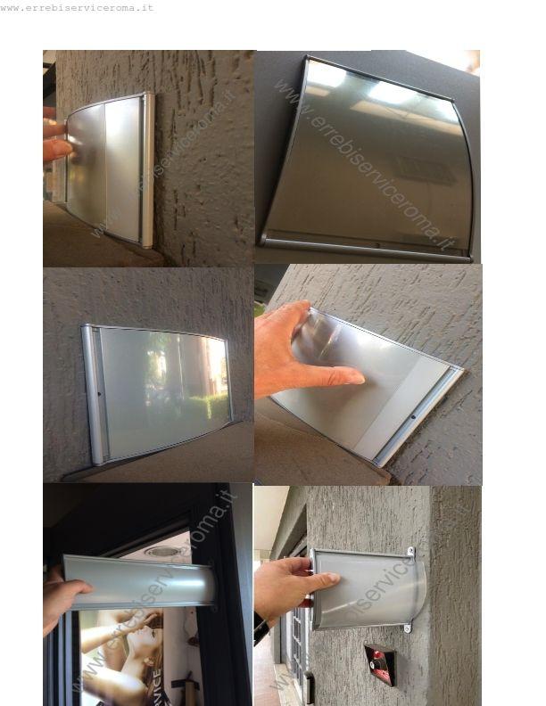 abbastanza Targhe fuori porta in alluminio per segnaletica direzionale  WT63