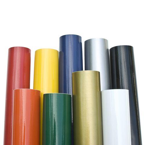 Ritrama pellicole adesive colorate per plotter da taglio - Pellicole adesive per vetri esterni ...